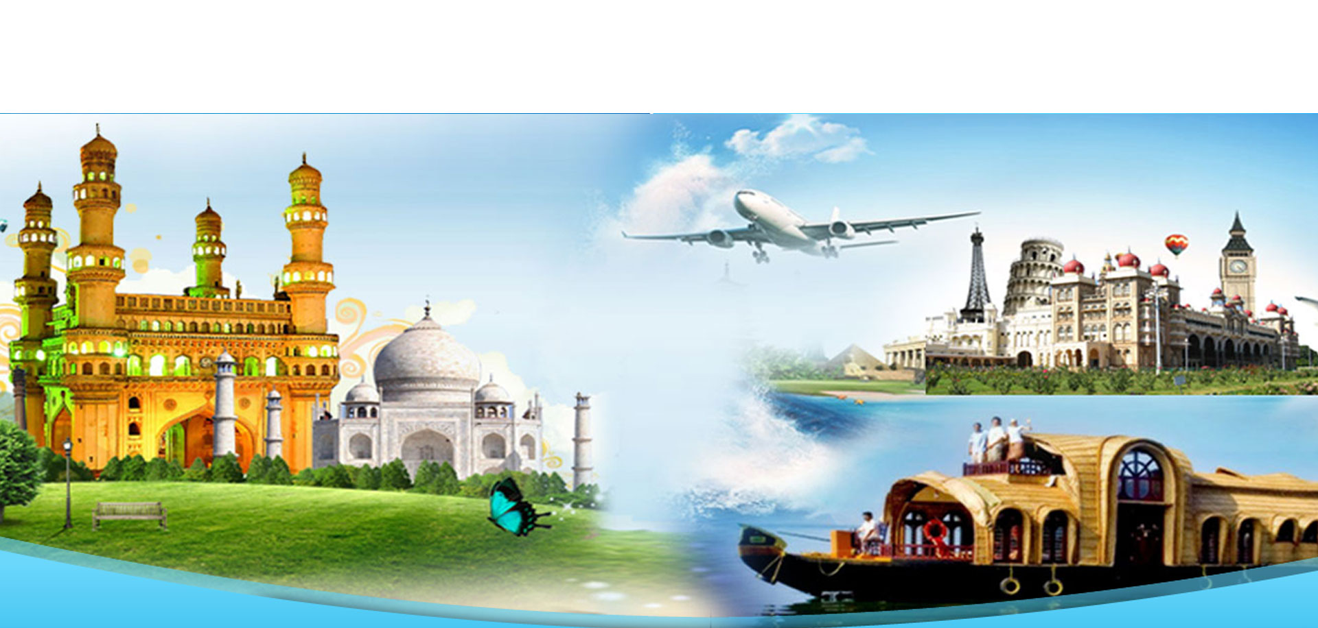 Tour Packages and hire car for rent at All India travel agency